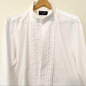 Christian Dior Men's Dress Shirt Size 17 -34